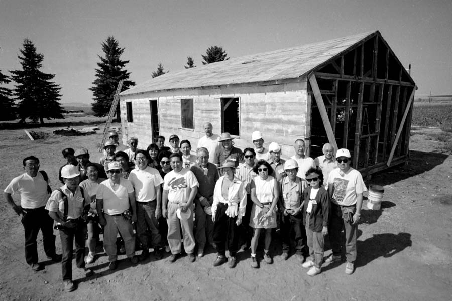 Powell, Wyoming- Volunteers.