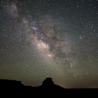Milky Way,  Fajada Butte
