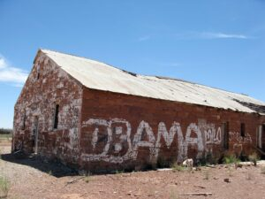 Abandoned building in Leupp.