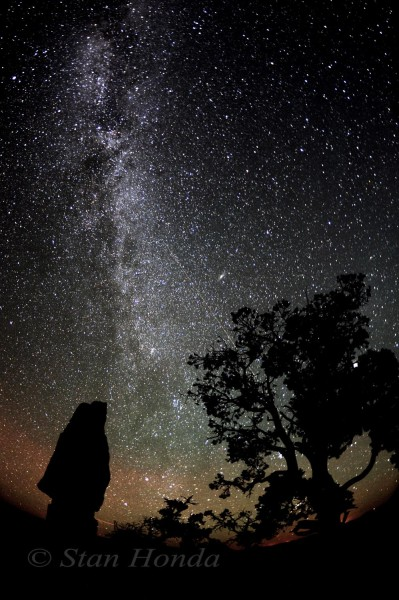 Autumn Milky Way, Shoshone Point