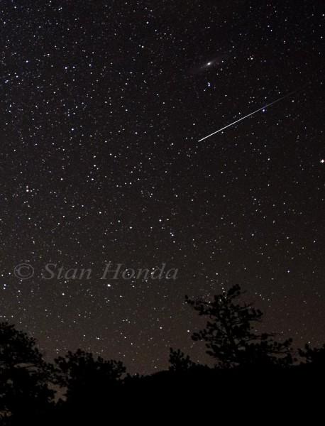 Meteor, Andromeda Galaxy