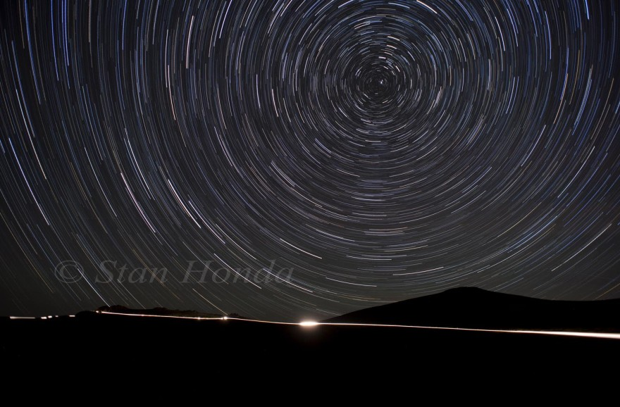 Star trails, Trail Ridge Road