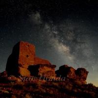 Milky Way, Wukoki pueblo