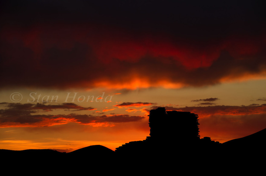 Sunset, Wupatki Pueblo