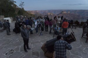 The GC Star Party, with a tremendous view.