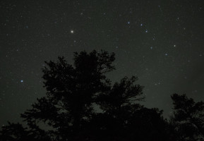 The Big Dipper, Arcturus and Spica.