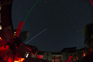 ISS flies over North Rim Star Party.