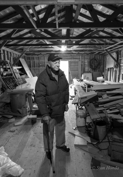 We met amazing people like homesteader Forrest Allen, standing in his storage shed that was a Heart Mountain barrack.