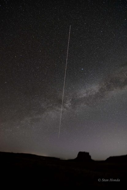 International Space Station, Fajada Butte, Mar. 7, 5:08 am
