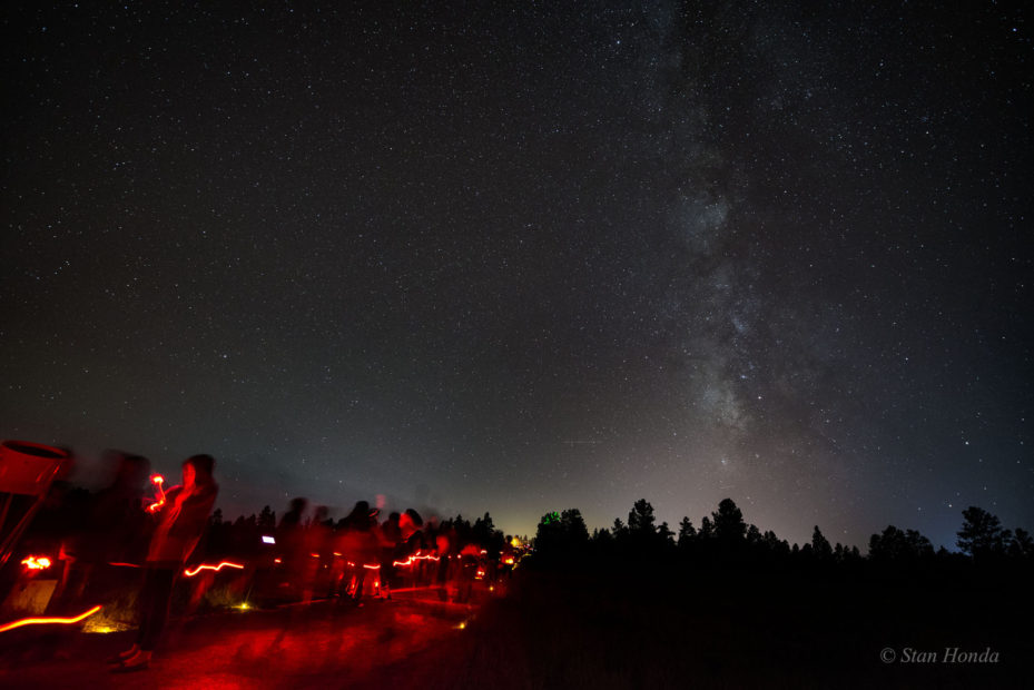 Flagstaff, AZ- Milky Way above the annual Star Party