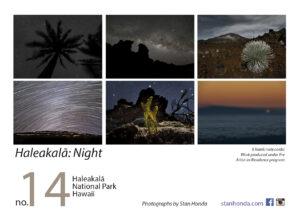 Haleakala night-postcard